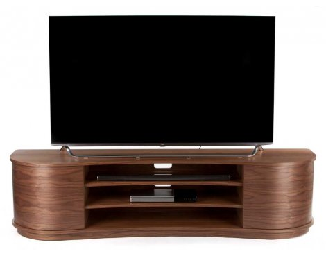 Tom Schneider Undulate Walnut TV Stand