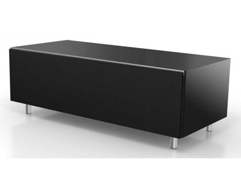 Just Racks JRL1101S Black TV Stand