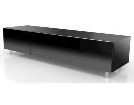 Just Racks JRL1650S Black TV Stand