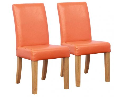 Shankar Bambi Kids Dining Chairs in Orange