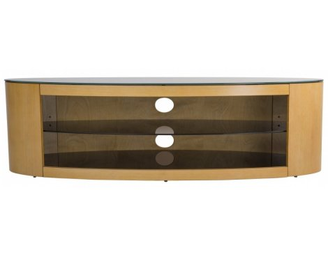 AVF Buckingham FS1400BUCO Oak TV Stand for up to 65""