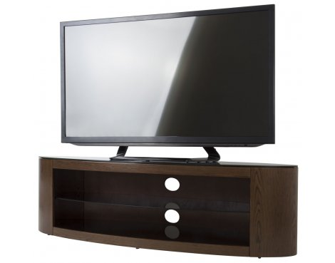 AVF Buckingham FS1400BUCW Walnut TV Stand for up to 65""