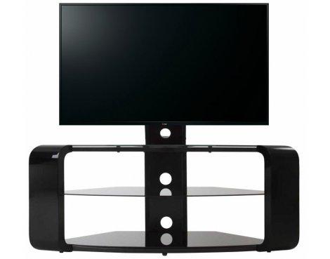 AVF Como FSL1174COB Gloss Black Cantilever TV Stand