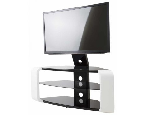 AVF Como Gloss White Cantilever TV Stand