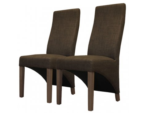 Baumhaus CDR03C Full Back Upholstered Dining Chairs