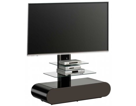 maja 1635 black cantilever tv stand. Black Bedroom Furniture Sets. Home Design Ideas