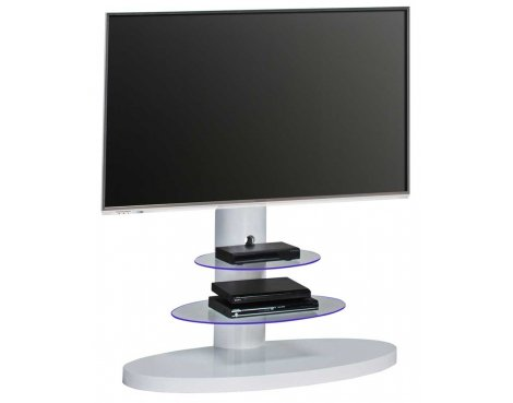 Maja 1636 White Cantilever TV Stand