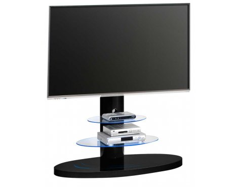 Maja 1636 Black Cantilever TV Stand