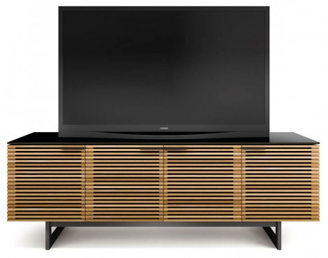BDI Corridor White Oak TV Cabinet