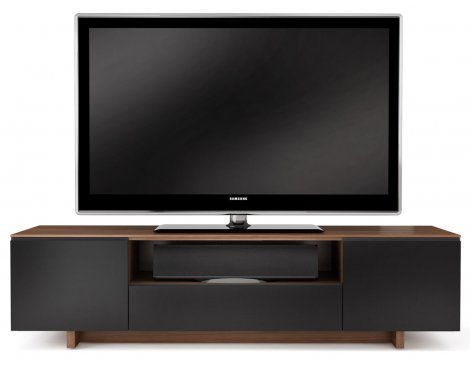 BDI Luxury Natural Walnut TV Cabinet