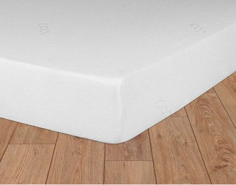 Ultimum AFV8000R46 Double Size Memory & Reflex Foam 4\'6 Mattress - Regular