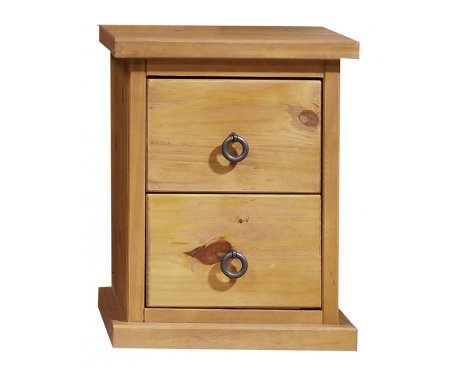Core Products Farmhouse FH310 Pine Bedside Cabinet