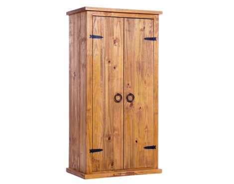 Core Products FH380 Farmhouse Pine 2 Door Wardrobe