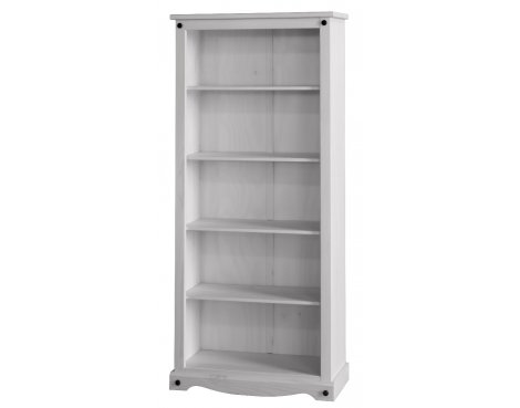 Core Products Corona White Washed CRW913 Tall Bookcase
