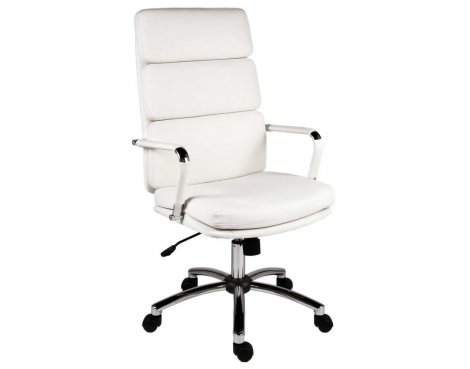Teknik Deco Executive White Office Chair