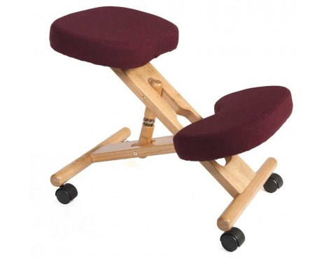 Teknik Kneeling Burgundy Office Chair