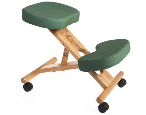 Teknik Kneeling Green Office Chair
