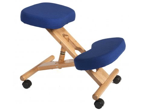 Teknik Kneeling Blue Office Chair