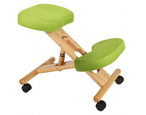 Teknik Kneeling Lime Green Office Chair