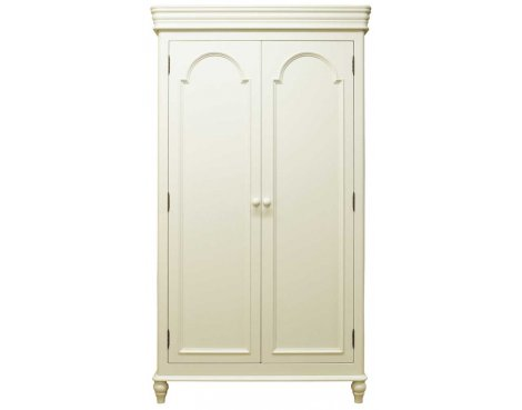 Ultimum Chateau Off White Full Hanging Ladies Wardrobe