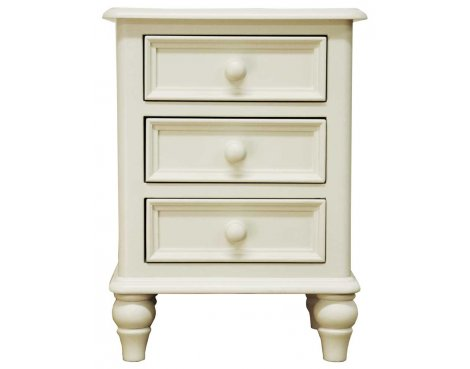 Ultimum Chateau Off White Bedside Cabinet