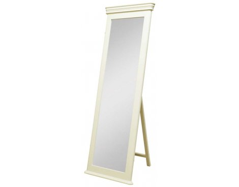 Ultimum Chateau Off White Cheval Mirror