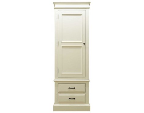 Ultimum Reiver Off White Single Wardrobe