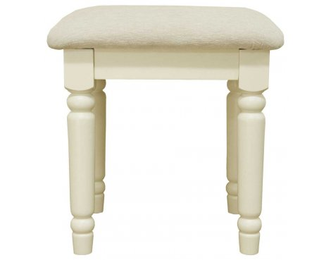 Ultimum Reiver Off White Dressing Stool