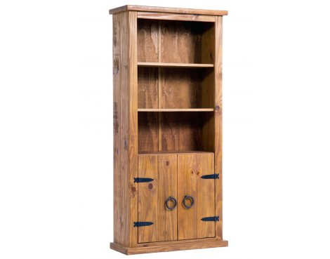 Core Products FH715 Pine 2 Door Bookcase