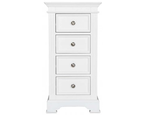 Ultimum Royal Elegance White 4 Drawer Wellington