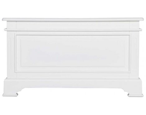 Ultimum Royal Elegance White Blanket Box