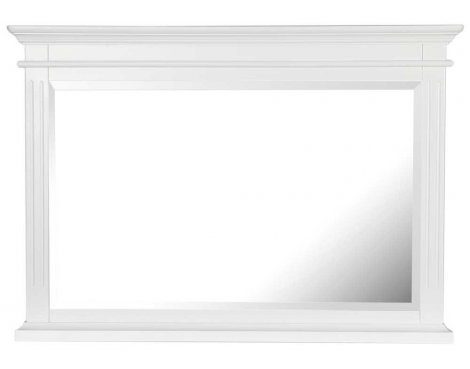 Ultimum Royal Elegance White Wall Mirror