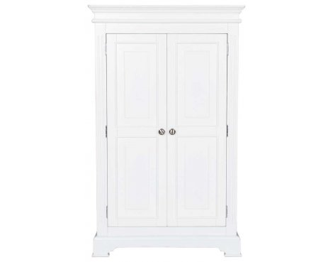 Ultimum Royal Elegance White Single Wardrobe