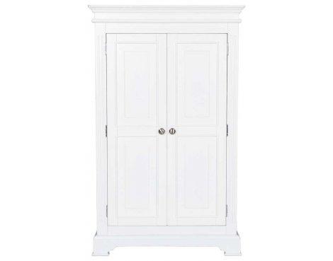 Ultimum Royal Elegance White Single Wardrobe