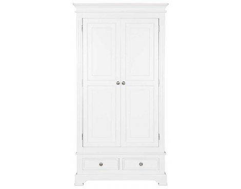 Ultimum Royal Elegance White Double Wardrobe