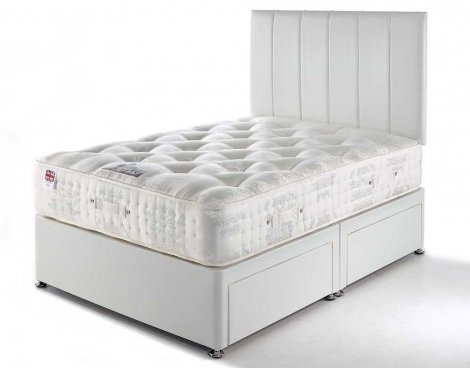 Luxan Imperial 2 Drawers with Headboard 4\'6 Divan