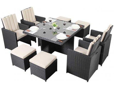 Luxan Port Royal Prestige Cube 4 in Black