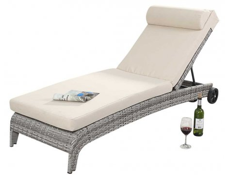 Luxan WGF-416 Port Royal Luxe Rustic Lounger