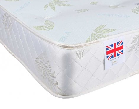 Ultimum SOMALO Bonnell Aloe Vera Small Double 4\'0 Mattress