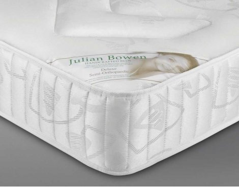Julian Bowen Deluxe Semi Orthopaedic 90cm Single Mattress