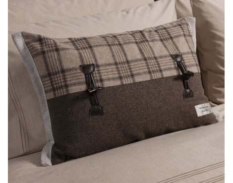 Gallery Kilburn and Scott Campbell Toggle Cushion - Mocha