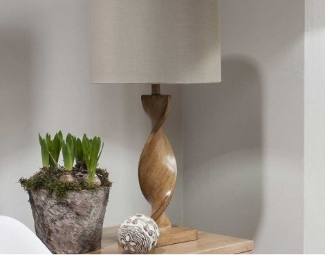 Gallery Argenta Table Lamp 26""