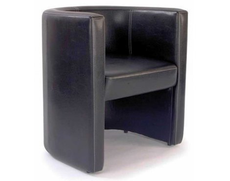 Ultimum Metro High Back Brown Tub Chair