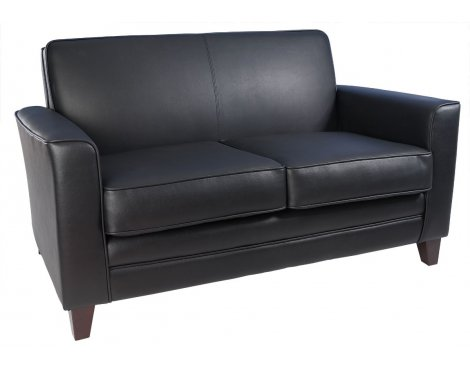 Teknik Newport Sofa- Faux Leather - Black
