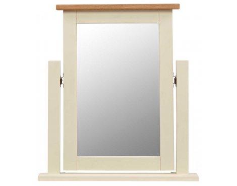 Rustic Grange Aspen Painted Vanity Mirror