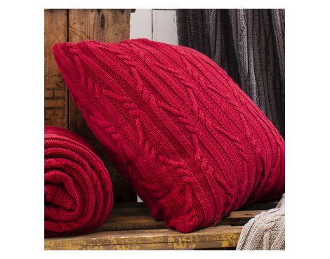 Gallery Arran Cushion - Red