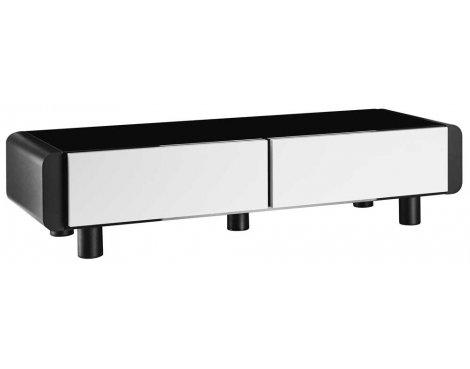Schnepel ELF L120 Black & White TV Stand