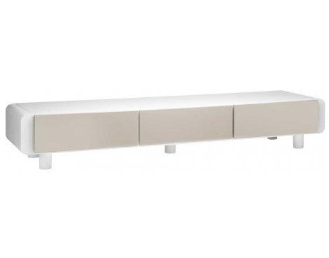 schnepel elf l170 white cuba tv stand. Black Bedroom Furniture Sets. Home Design Ideas