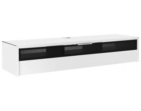 Schnepel S1 LB-HW-BL White & Black TV Stand