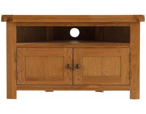Ultimum Dere Rustic Oak Corner TV Stand